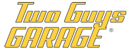 two guys garage logo
